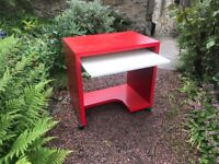 FREE Red computer desk