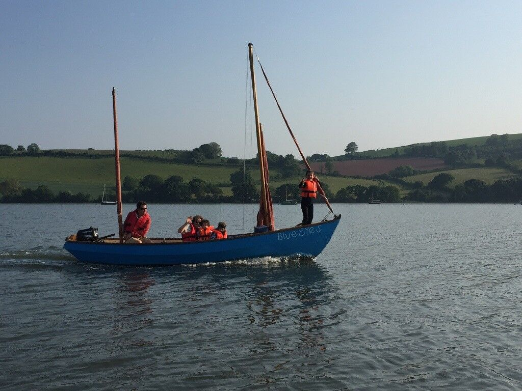 Drascombe Lugger for sale with engine and trailer
