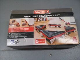 Furniture transport set, lifter and wheel set, almost new