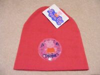 Peppa Pig Beanie Hat and Gloves Set Age 3-6: Brand New and Unused