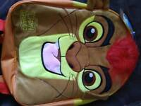 Lion guard childs backpack. New