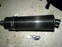Carbon fibre micron can.