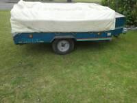 Parthenon raclet trailer tent