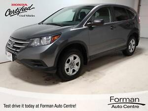 2013 Honda CR-V LX - Heated Seats | Honda Certified