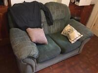 **FREE***Two cosy seater sofa to collect ASAP