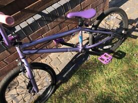 Purple BMX