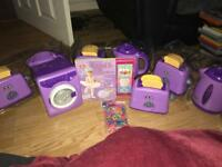 Selection of kids toys