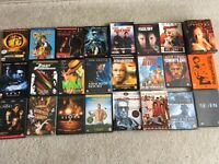 24 dvds most never watched