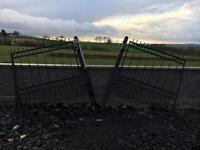 Gates , gate posts and railings