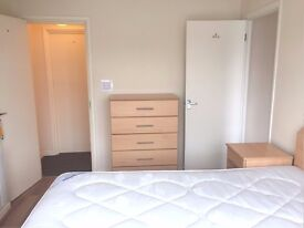 Really nice double room with private ensuite shower and toilet