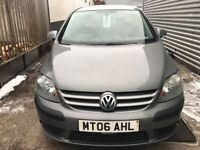 Excellent Value 2006 118000 Miles Golf Plus 1.9 TDI MARCH MOT 2019 Part Servi...