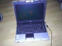 Acer Aspire 3680 - No Hard Drive sold as spares or repair although is working