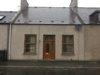 2 bed unfurnished mid-terraced house in Rhynie near Huntly
