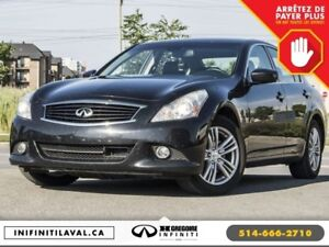 2013 Infiniti G37 Luxury AWD Auto GPS Sunroof Cuir Bluetooth Cam