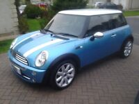 2005 mini cooper blue mot end march,2017, full service history, this car is in excellent condition.
