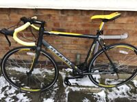 Carerra Road Bike Grey/Yellow