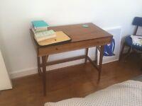 west elm Mid-Century Mini Desk, Acorn