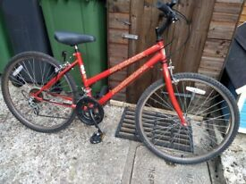 Vintage Ladies Bicycle 15 inch 15 speed