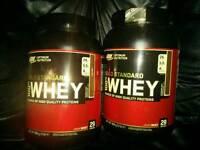 Optimum Nutrition 100% Whey 908g protein supplement