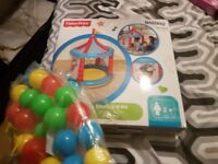 Fisher price circus ball pit with balls brand new in box