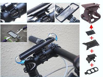 180° Universal EasyMount Mobile Phone Bike Handlebar Mount / Stem Mount Kit