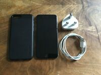 Used Space Grey iPhone 6 128gb in excellent condition. Unlocked. Case, charger plug & cable included