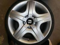 Bentley GT 19 Inch - New Tyres