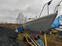 Coribee 21 sail boat.