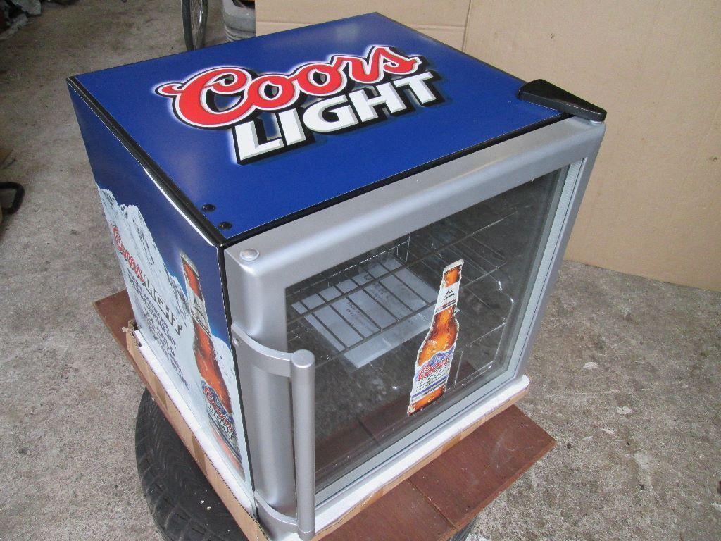 Beer Mini Fridge New Coors Light In Sixmilecross County