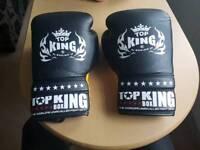 Top King 10 oz muay thai boxing gloves, not sandee, fairtex, twins, yokkao