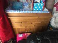 Mothercare dresser baby changer
