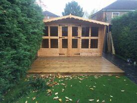 12x8 log cabin at sale price