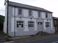 Large Former Hotel/Public House in Treherbert, Rhondda for Sale. Investment property