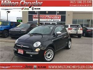 2015 Fiat 500C LOUNGE CONVERTIBLE|LEATHER