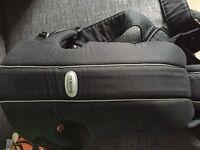 Baby bjorn carrier in black