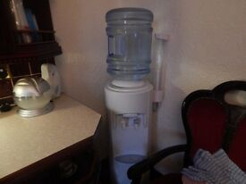 WATER COOLER , AND NEW BOTTLE SEALED WATER
