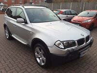 BMW X3 Sport 3.0i Petrol And LPG Automatic HPI Clear 12 Months MOT
