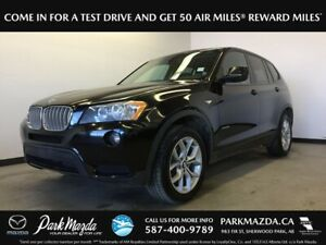 2014 BMW X3 28i Xdrive - Bluetooth, Heated Front Seats, AUX Inpu