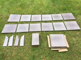 Ceramic Step tiles, full set (37 pieces)
