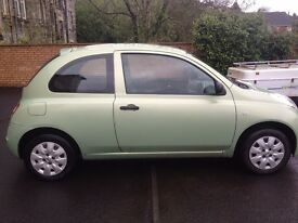 A Nissan Micra car for sale, in a very good condition.
