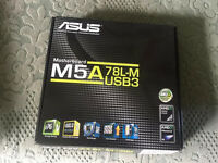 Corsair H75+ Asus Gtx 760+ Asus M5a78l-m usb3 Open to offers!