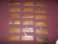 WOOD WORKING MOULDING PLANES