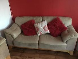 Sofa and 2 arm chairs BARGAIN £150