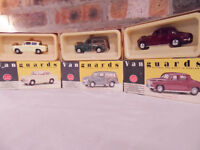 Vanguards - Boxed As New - Rover P4 - Morris Minor Traveller - Ford Anglia