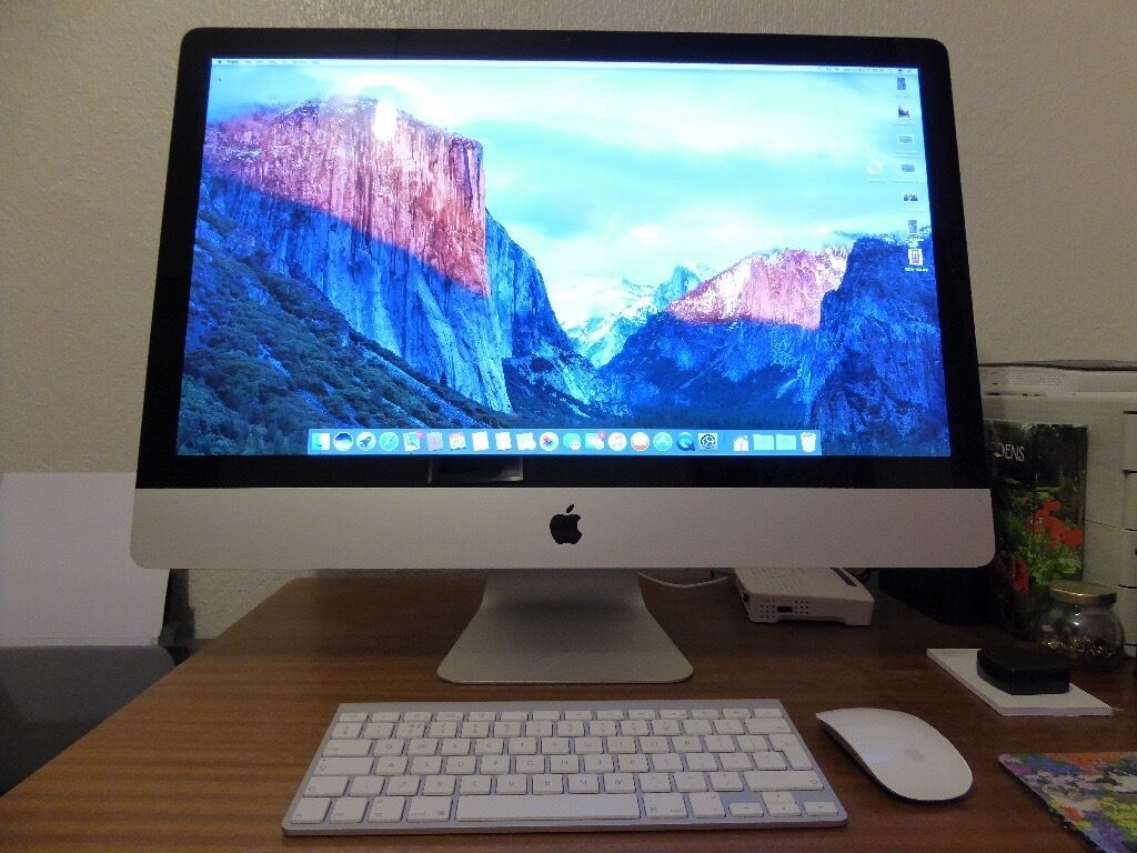 Apple iMac 27 inch, Late 2009, 2.66 GHz Intel Core i5, 12 GB Memory, 2TB HD MINT CONDITIONin Tain, HighlandGumtree - Apple iMac 27 inch, Late 2009, 2.66 GHz Intel Core i5, 12 GB Memory with a 2TB Hard Drive. See photos re condition, side photo of superdrive slot for dvd/cd, memory card slot, rear photo of usb slots etc. iMac is in mint condition and comes with...