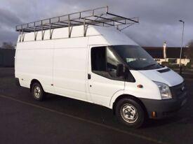 12 Ford Transit 350 XLWB Jumbo Van 155HP with Tail Lift
