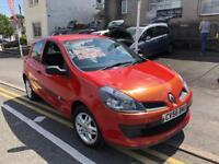 2007 56 plate Renault Clio 1.1 extreme, long mot bargain