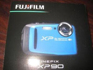 "Fujifilm FinePix XP90 Digital Camera / Camcorder. Rugged. Water Proof. HD Movie. 3"" LCD. Wifi. 16MP. 5X Optical Zoom NEW"