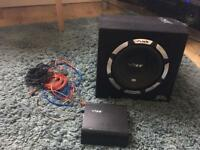 "Vibe 10"" enclosed subwoofer"