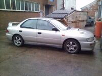 Subaru Impreza classic wrx, breaking, spares or repairs, salvage, breaking